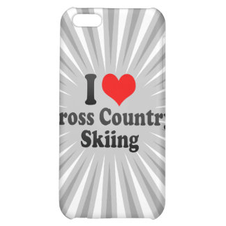 I love Cross Country Skiing Cover For iPhone 5C