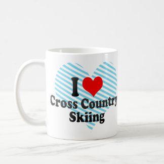 I love Cross Country Skiing Mugs