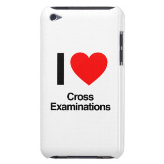 i love cross examinations iPod touch Case-Mate case
