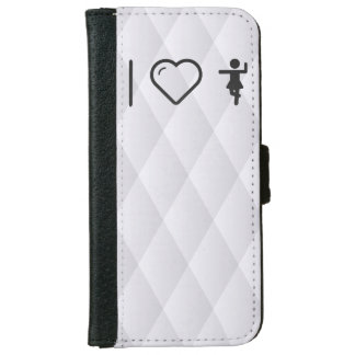 I Love Cross Exercises iPhone 6 Wallet Case