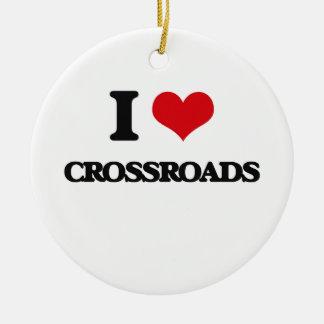 I love Crossroads Christmas Ornaments