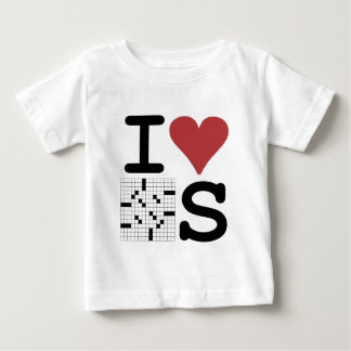 I Love Crosswords Clothing and Accessories Baby T-Shirt