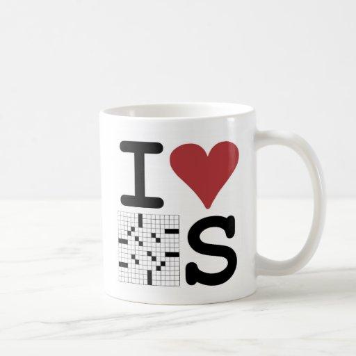I Love Crosswords Mug