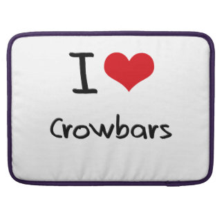 I love Crowbars Sleeve For MacBook Pro