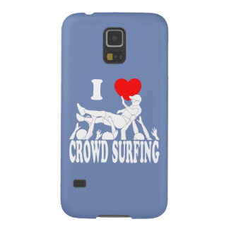 I Love Crowd Surfing (male) (wht) Case For Galaxy S5