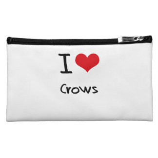I love Crows Makeup Bags