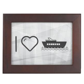 I Love Cruise Runnings Memory Box