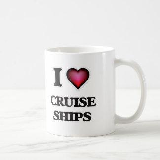 I love Cruise Ships Coffee Mug