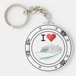 I Love Cruising Keychain