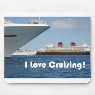 I Love Cruising Mouse Pad