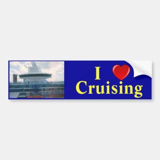 I Love Cruising R Car Bumper Sticker