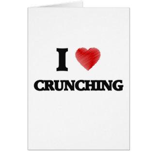 I love Crunching Card