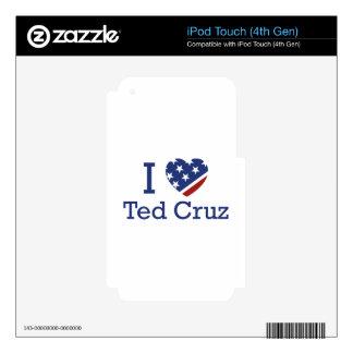 I Love Cruz iPod Touch 4G Decal