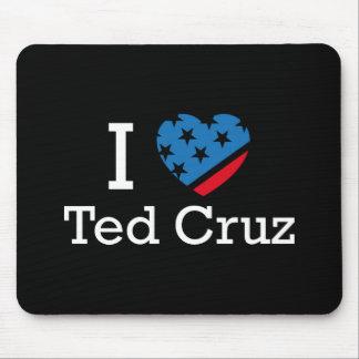 I Love Cruz Mouse Pad