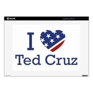 """I Love Cruz Skin For 15"""" Laptop"""