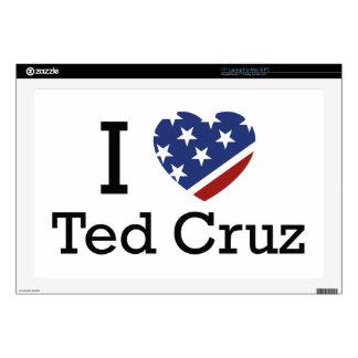 """I Love Cruz Skin For 17"""" Laptop"""