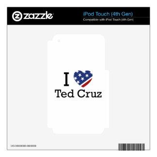 I Love Cruz Skin For iPod Touch 4G
