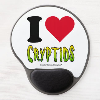 I Love Cryptids Gel Mouse Pad