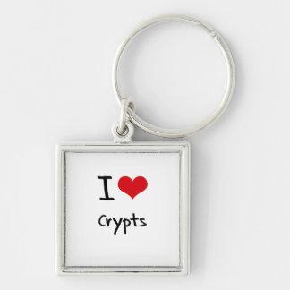 I love Crypts Keychain