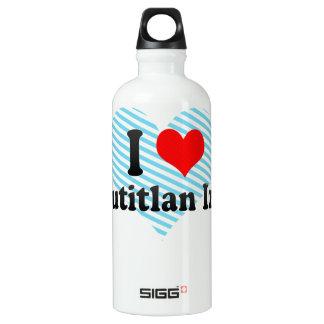 I Love Cuautitlan Izcalli, Mexico Aluminum Water Bottle