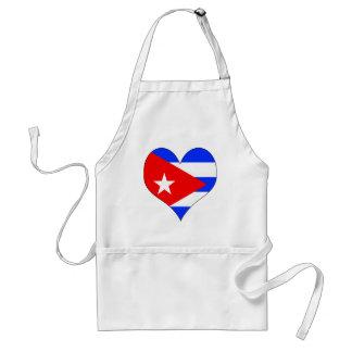 I Love Cuba Aprons