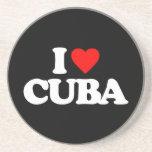 I LOVE CUBA COASTER