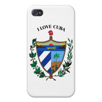 I LOVE CUBA -DESIGN 1 FROM 933958STORE iPhone 4/4S CASE