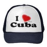 I Love Cuba Hats