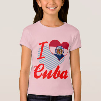 I Love Cuba, Missouri T-Shirt