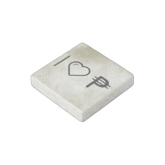 I Love Cuba Monies Stone Magnet