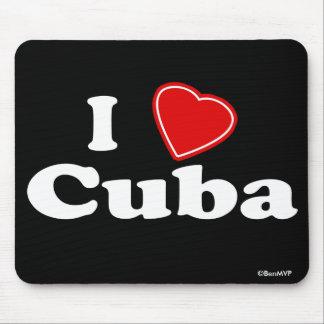 I Love Cuba Mouse Pad