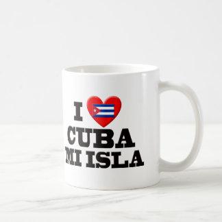 I Love Cuba Mugs