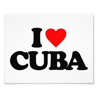 I LOVE CUBA PHOTO ART