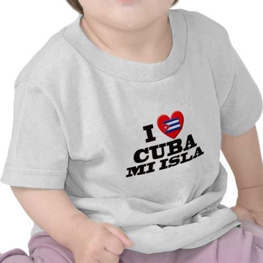 I Love Cuba Tees