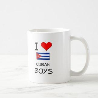 I Love Cuban Boys Mug