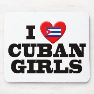 I Love  Cuban Girls Mouse Pad