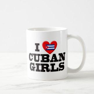 I Love Cuban Girls Coffee Mugs