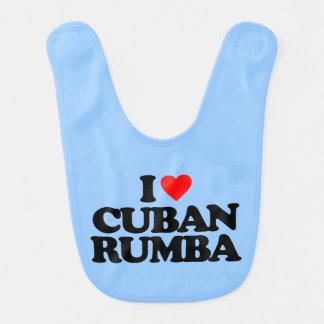 I LOVE CUBAN RUMBA BIB