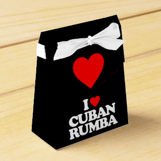 I LOVE CUBAN RUMBA FAVOR BOX