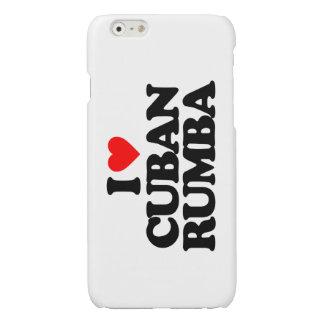 I LOVE CUBAN RUMBA GLOSSY iPhone 6 CASE