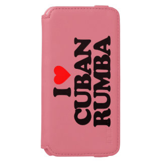 I LOVE CUBAN RUMBA iPhone 6/6S WALLET CASE