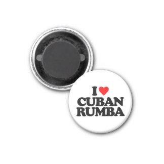 I LOVE CUBAN RUMBA MAGNET