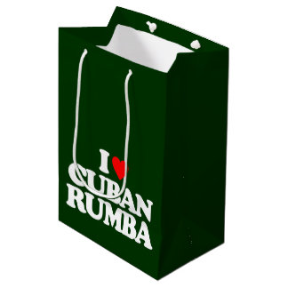 I LOVE CUBAN RUMBA MEDIUM GIFT BAG