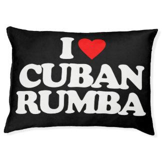 I LOVE CUBAN RUMBA PET BED