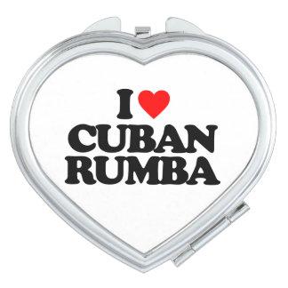 I LOVE CUBAN RUMBA VANITY MIRROR
