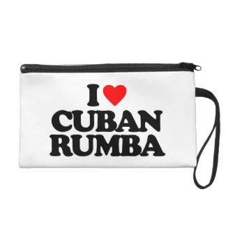 I LOVE CUBAN RUMBA WRISTLET