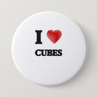 I love Cubes Button
