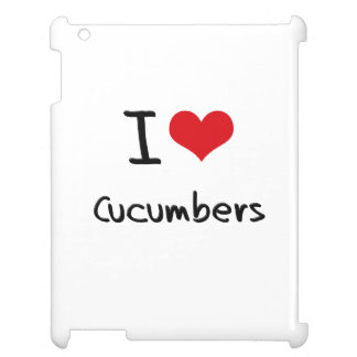 I love Cucumbers Case For The iPad 2 3 4