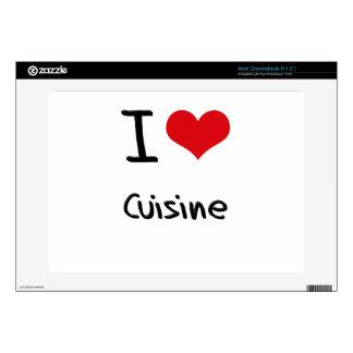 I love Cuisine Acer Chromebook Skin