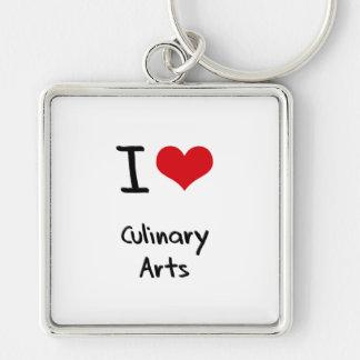 I love Culinary Arts Keychains